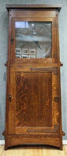 Stickley Made Grove Park Inn Roycoft Clock