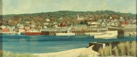 Joseph Eiser Port Jefferson New York Painting