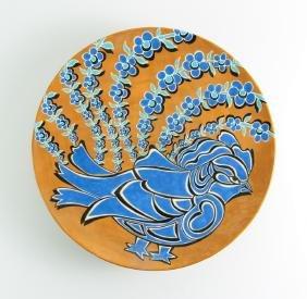 Wafta Midani Ceramic Bird Charger