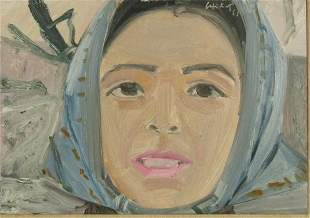 Alex Katz Ada Painting 1965