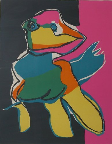 13: Appel Colorful Animal early litho