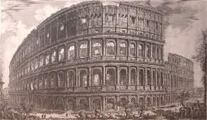 148 Piranesi Rome Coliseum engraving