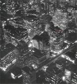 213 Berenice Abbott Photo New York at Night