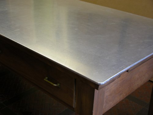 365: Stainless Steel Butcher's Table