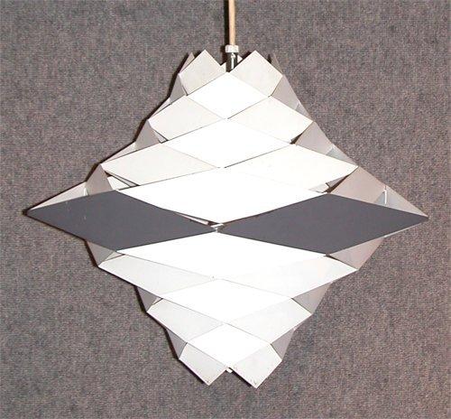 375: Simon Henningsen Harlequin Ceiling Fixture Light
