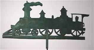 521 Sheet iron Locomotive Weathervane