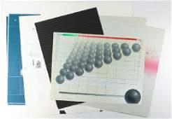 Eight prints including Batista, Bellan-Gillen