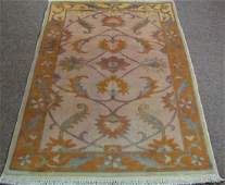 Fine Turkish Oushak  Carpet
