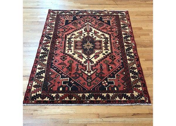 Persian Bakhtiari Pictorial Carpet