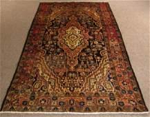 Semi Antique Persian Malayer Carpet