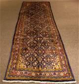Persian Mahal Sarouk Runner Carpet