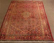 Semi Antique Persian Bijar Carpet