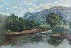 Robert Payton Reid Attr. Landscape Painting