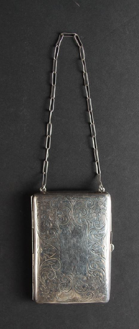 Schmitz, Moore and  Co Sterling Silver Purse