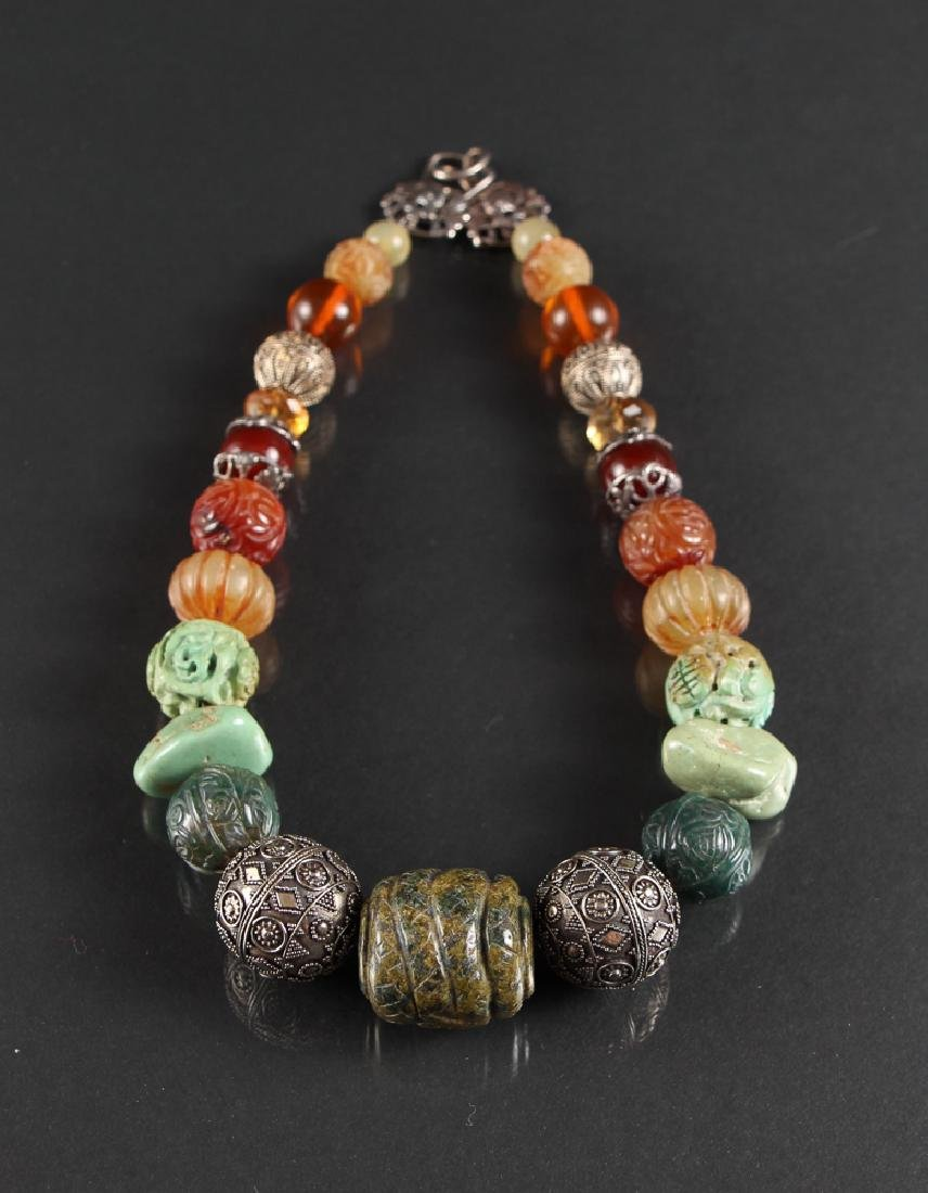 Stephen Dweck Chinese Themed Necklace