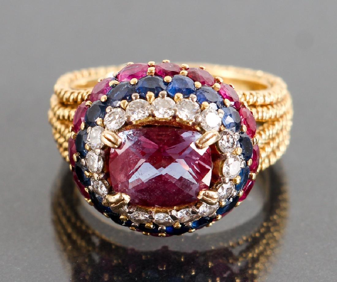 Vintage Bulgari Bvlgari Attributed Ring