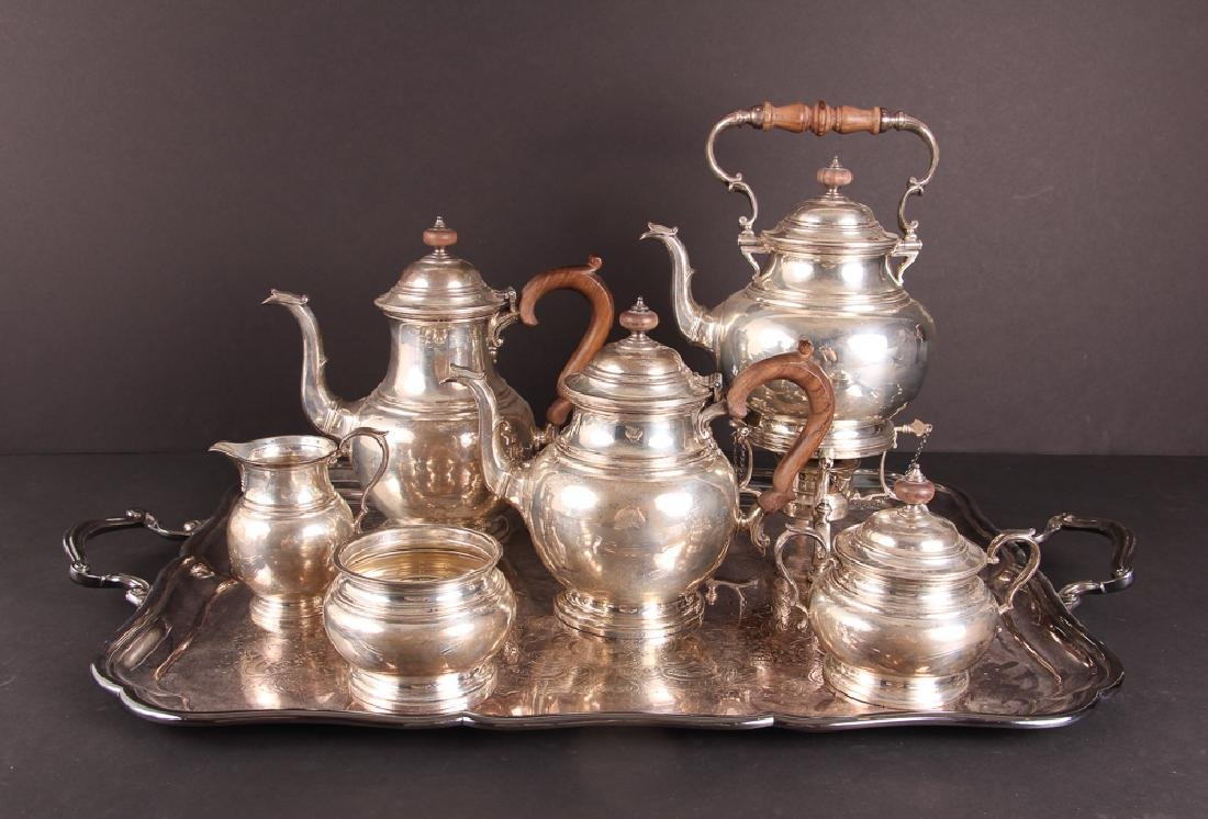 Six  Piece Gorham Sterling Tea Set