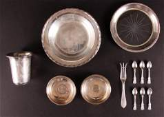 Twelve Pieces Miscellaneous Sterling Silver