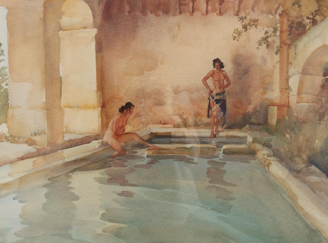 William Russell Flint wc Goddesses of Gracious Shade