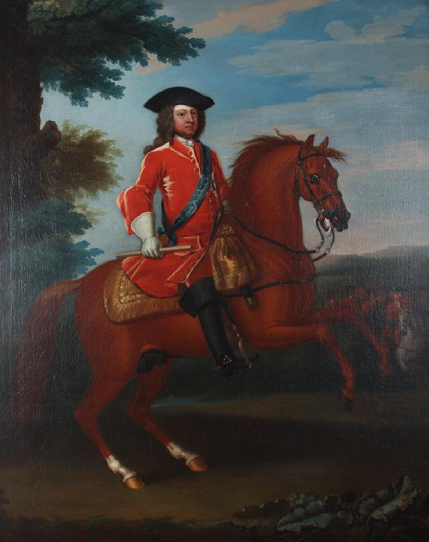 John Wooton Attributed George II Portrait