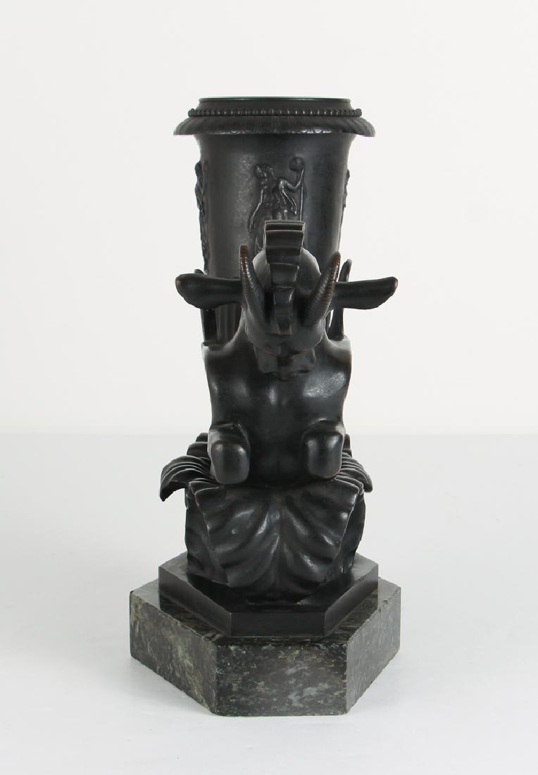 Art Deco Bronze Pegasus Lamp Base - 2