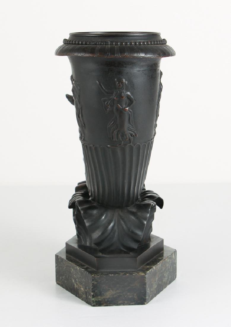 Art Deco Bronze Pegasus Lamp Base - 4