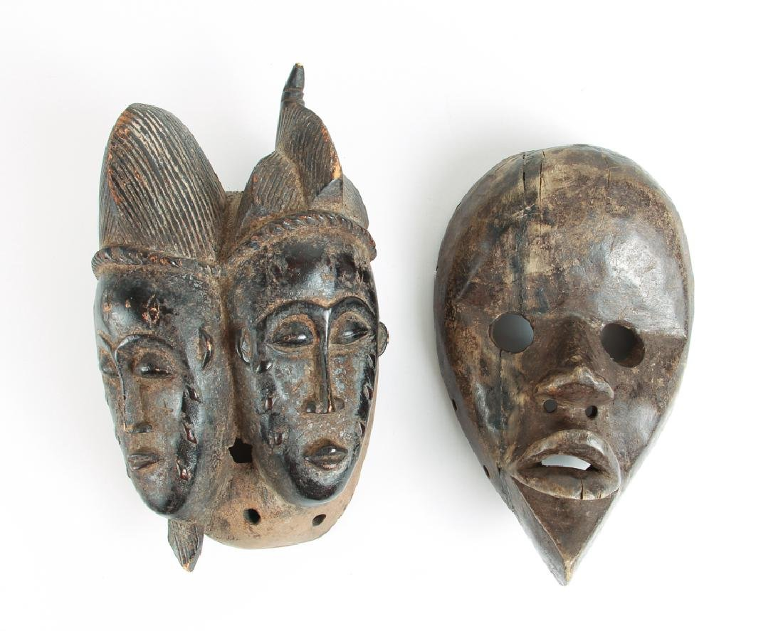 Baule Double-faced Mask with Dan Mask