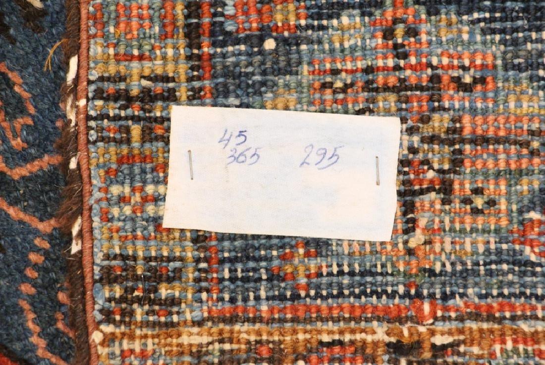 Semi Antique Heriz Oriental Rug - 8