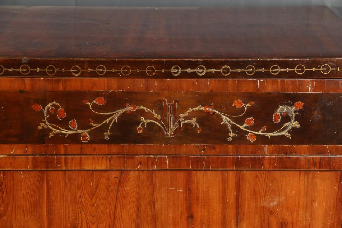 Biedermeier Chest with Egyptian Revival Accents - 3