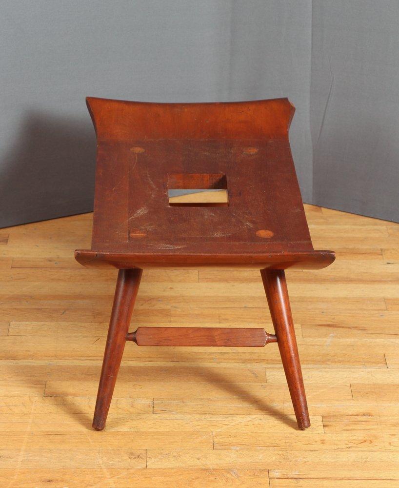 20th Century Japanese Wood Bench - 2