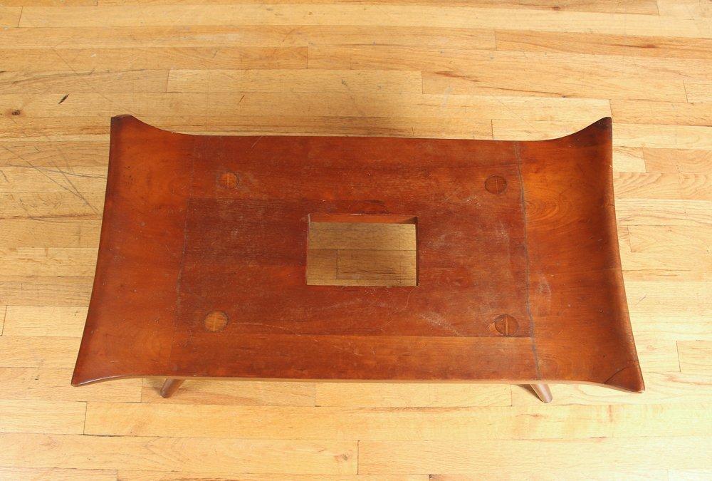 20th Century Japanese Wood Bench - 5
