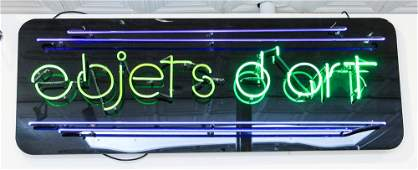 Objects dArt Neon Advertising Sign