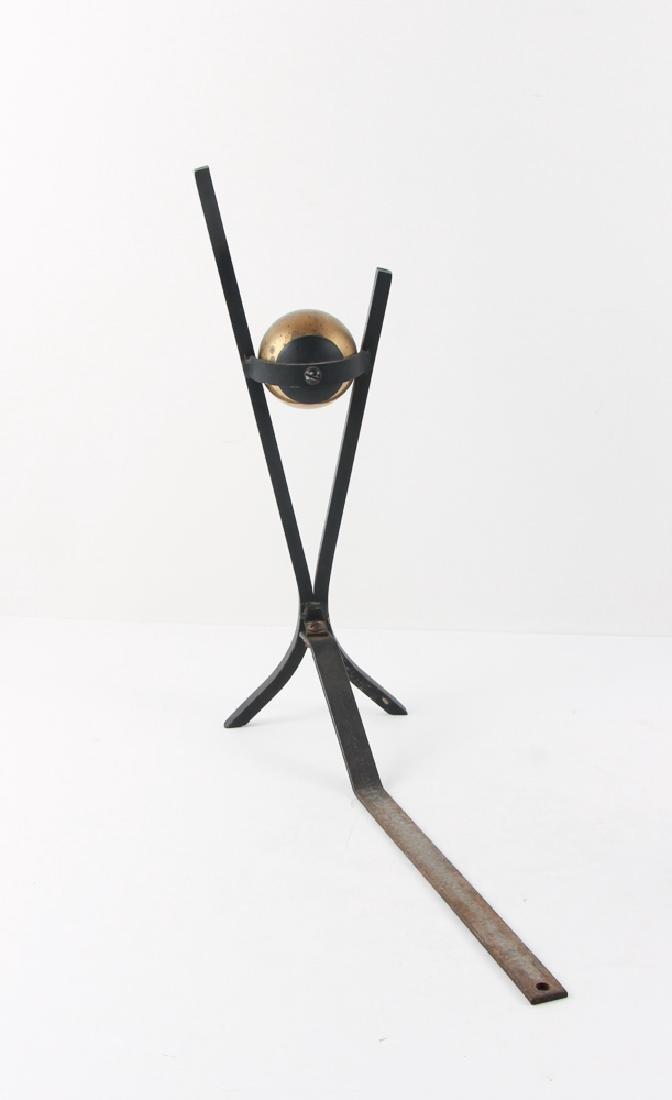 Donald Deskey Andirons and Fireplace Tools - 2