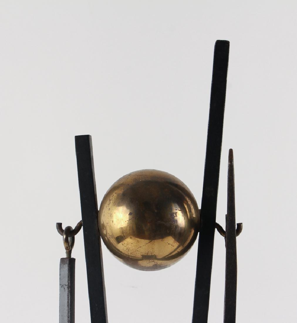 Donald Deskey Andirons and Fireplace Tools - 7