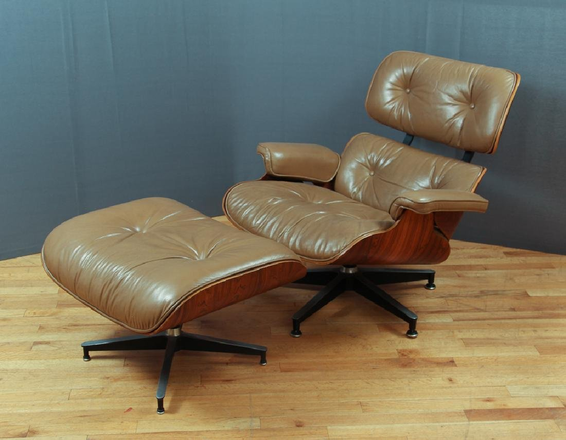 Eames Rosewood Lounge Chair & Ottoman