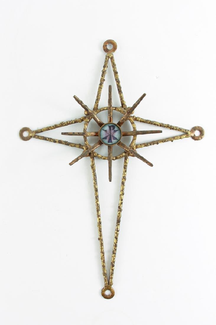 James Frappe Jere Style  Mid Century Cross