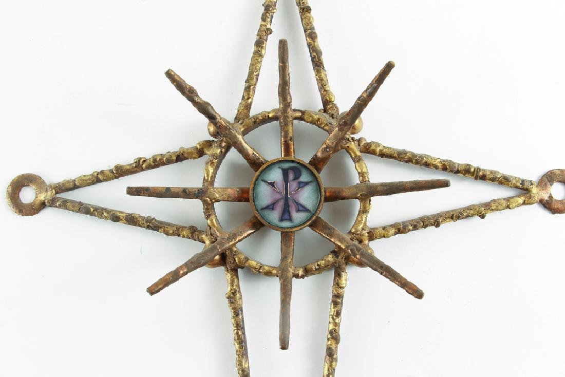 James Frappe Jere Style  Mid Century Cross - 2