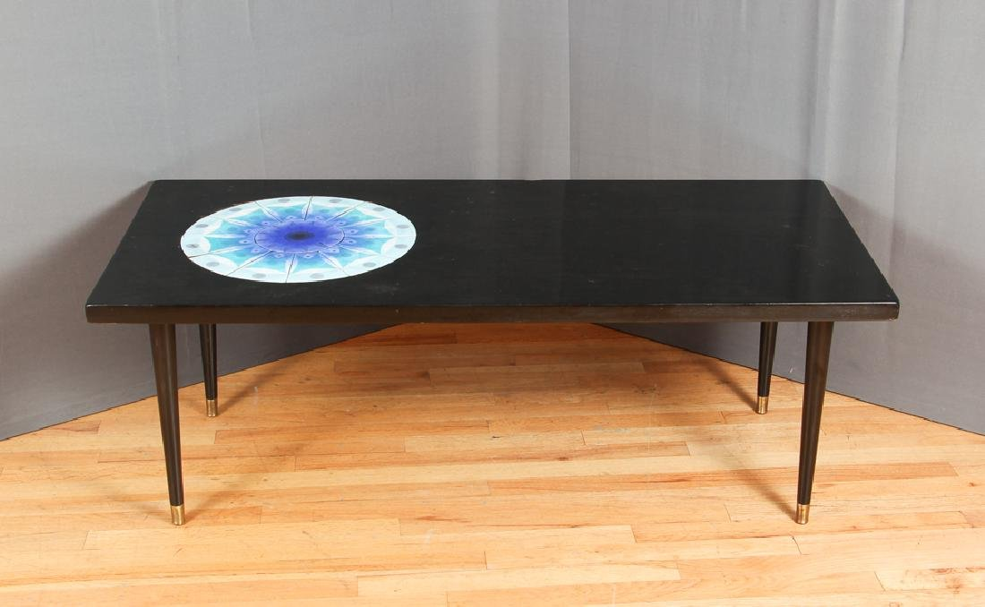 James Frappe Artist Made Mid Century Coffee Table