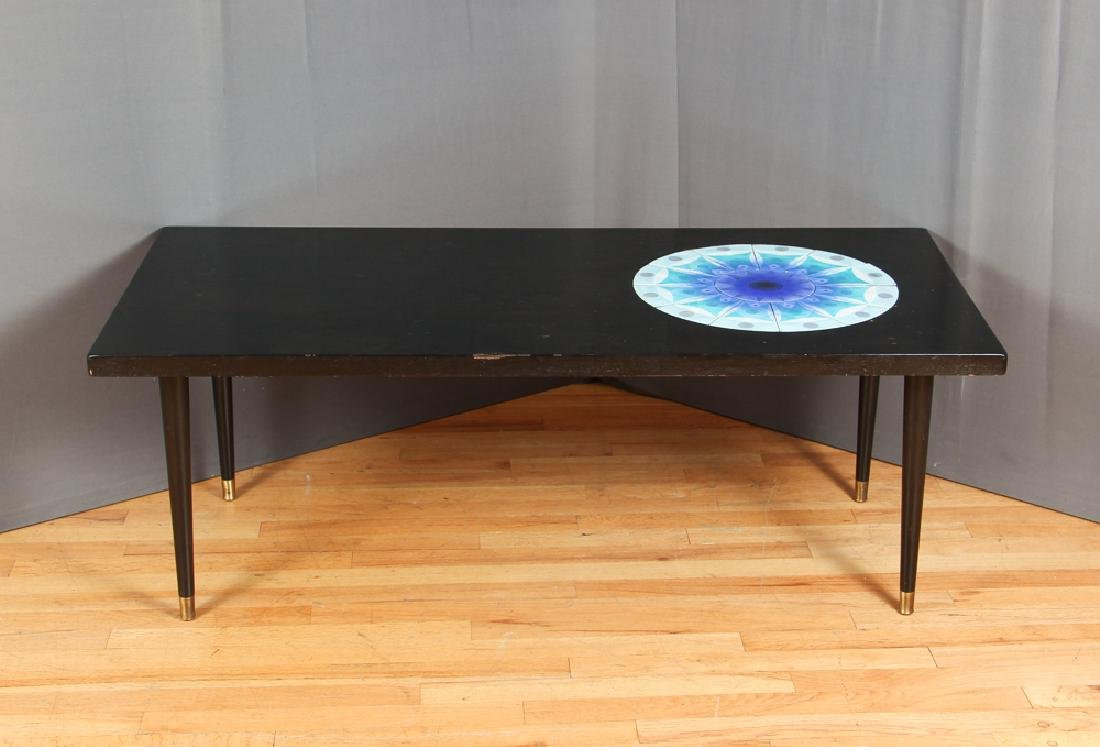James Frappe Artist Made Mid Century Coffee Table - 3