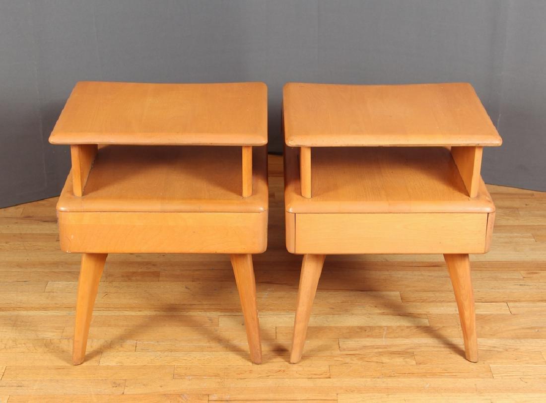 Heywood Wakefield Pair of Step End Tables - 3