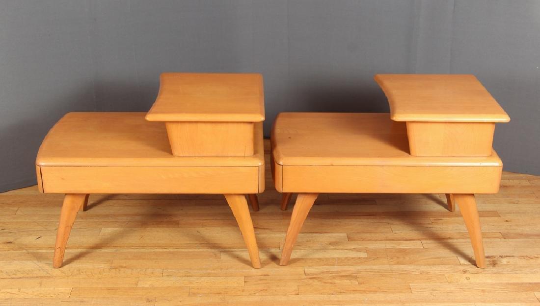 Heywood Wakefield Pair of Step End Tables - 4