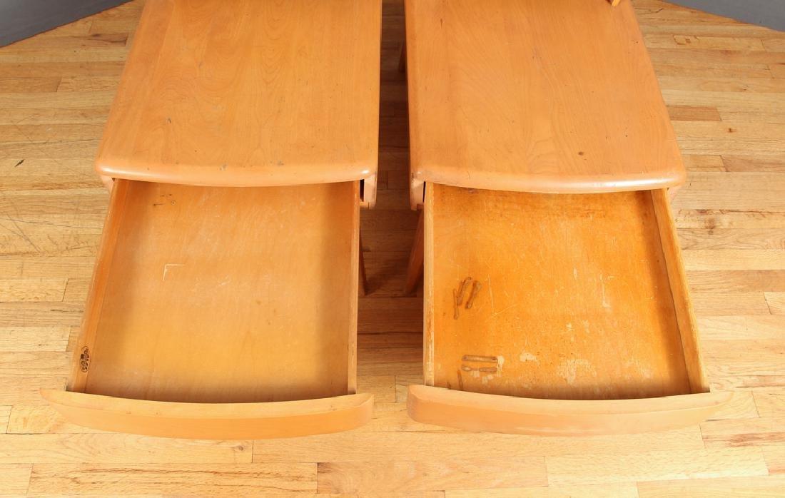 Heywood Wakefield Pair of Step End Tables - 5