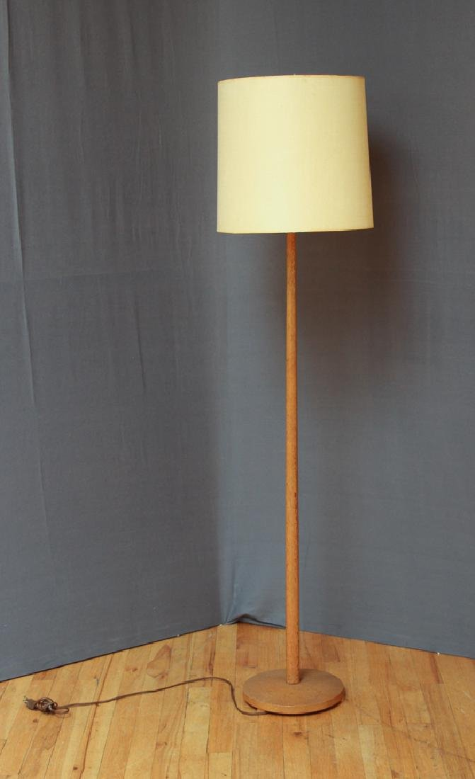George Kovacs Oak Floor Lamp