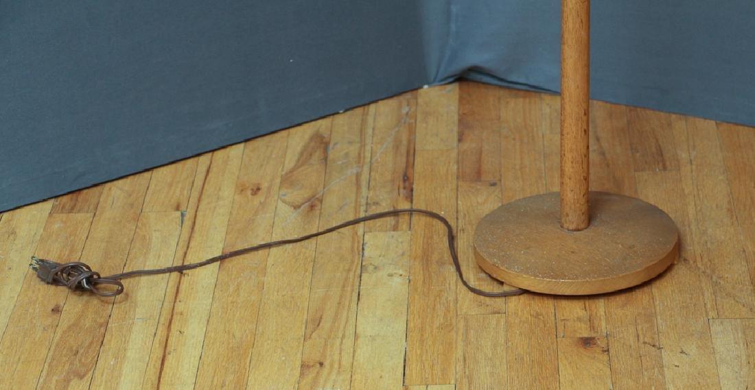 George Kovacs Oak Floor Lamp - 3