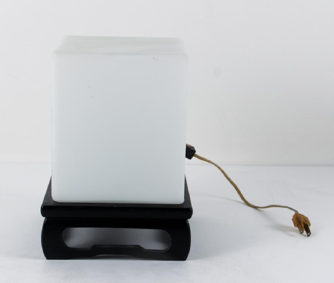 Laurel Lamp Mid Century Cube Lamp