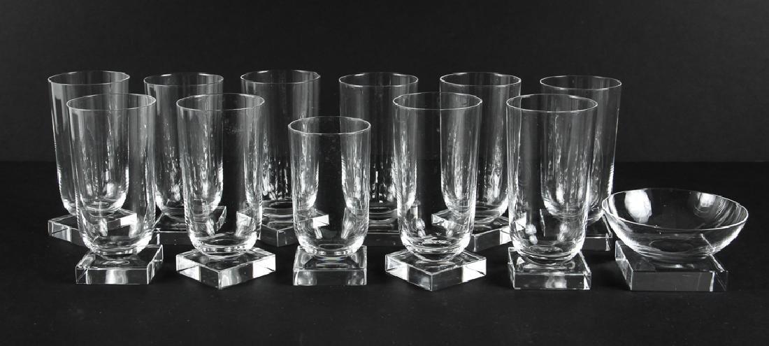 Twelve Pieces Libbey Knickerbocker Glassware