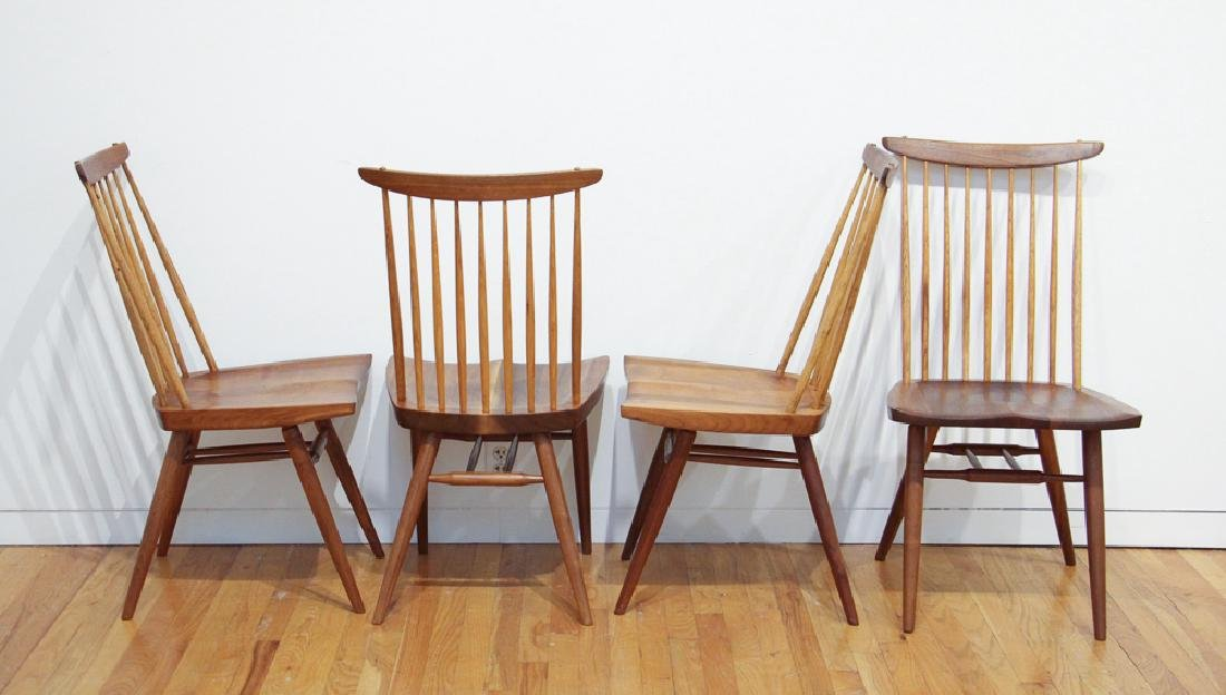 George Nakashima 6 New Dining Chairs - 2