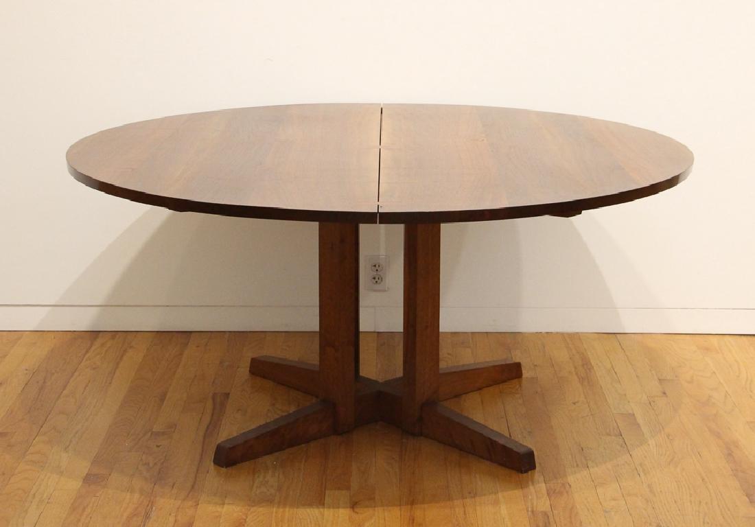 George Nakashima Round Cluster-Based Table - 2
