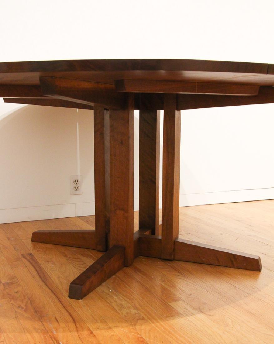 George Nakashima Round Cluster-Based Table - 7