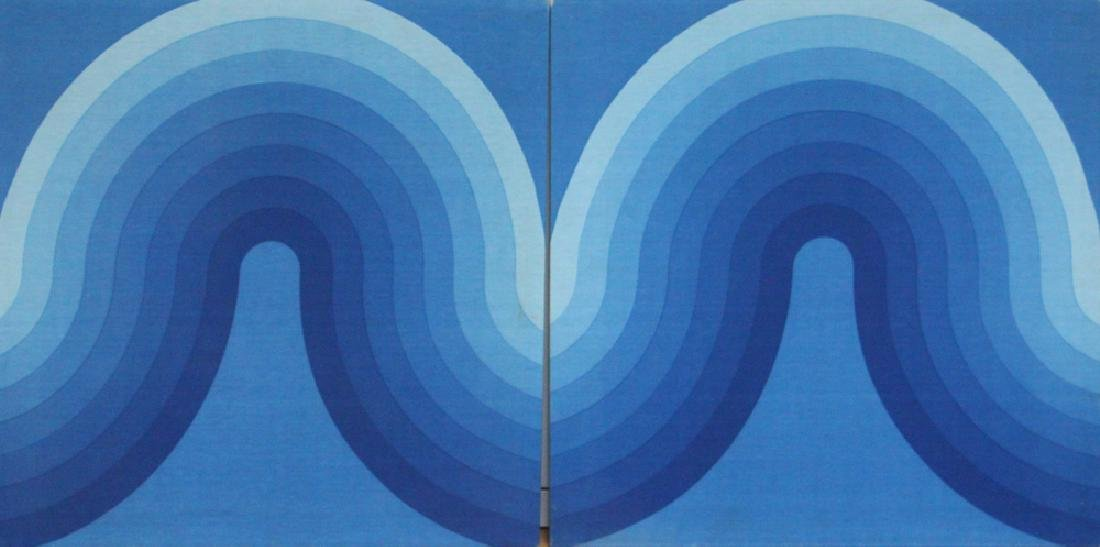 Verner Panton Fabric Diptych Panels